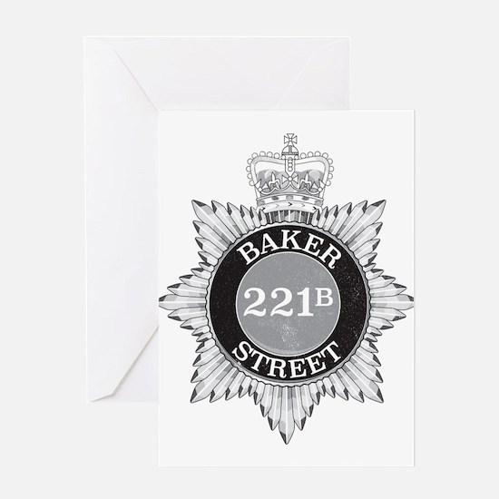 Baker Street Regulars Greeting Cards