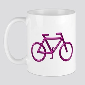 """Burgundy Bike"" Mug"