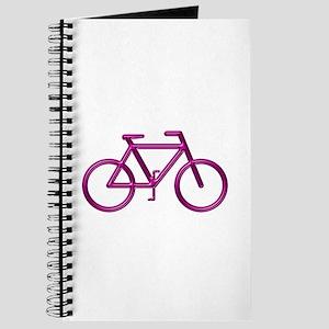 """""""Burgundy Bike"""" Journal"""