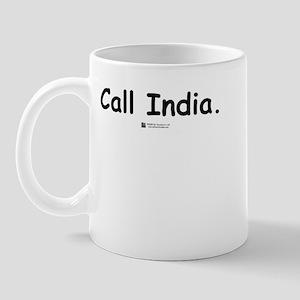 Call India -  Mug