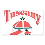 Tuscany Rectangle Sticker
