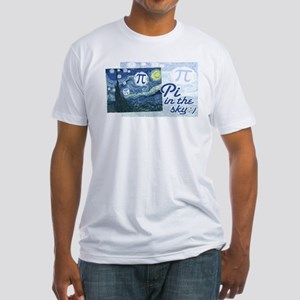 Pi in the Sky Fitted T-Shirt