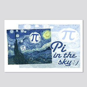 Pi in the Sky Postcards (Package of 8)