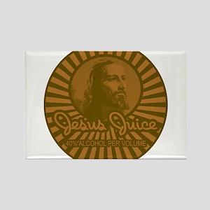 Jesus Juice Rectangle Magnet