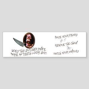 Trilogy of Terror! Sticker (Bumper)