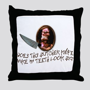 Trilogy of Terror! Throw Pillow