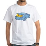 Junk in the Trunk White T-Shirt