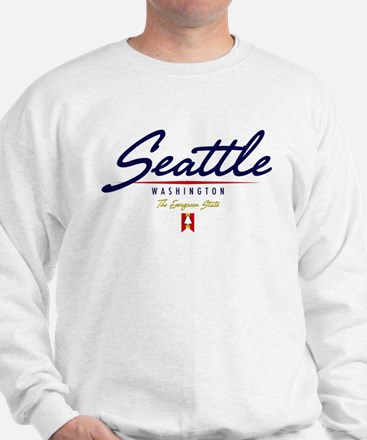 Seattle Script Sweatshirt