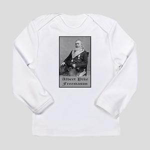 Albert Pike Freemason Long Sleeve Infant T-Shirt