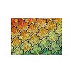 Celtic Leaf Tesselation 38.5 x 24.5 Wall Peel