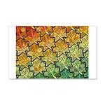 Celtic Leaf Tesselation 22x14 Wall Peel