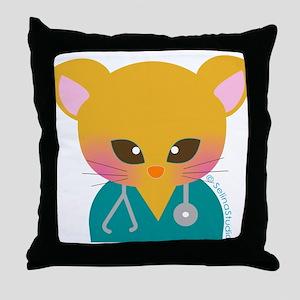"'Nurse"" Throw Pillow"