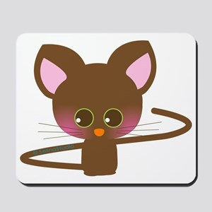 """Brown Mousey"" Mousepad"