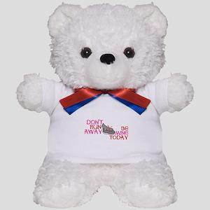 Runner Love Teddy Bear