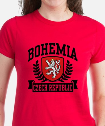 Bohemia Czech Republic Women's Dark T-Shirt