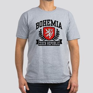 Bohemia Czech Republic Men's Fitted T-Shirt (dark)
