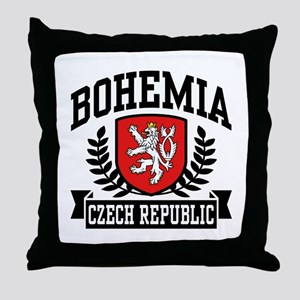 Bohemia Czech Republic Throw Pillow