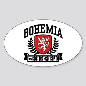 Bohemia Czech Republic Sticker (Oval)