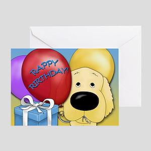 Golden Birthday Greeting Card