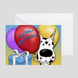 Great Dane Birthday Greeting Card