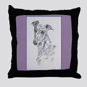 Greyhound Throw Pillow