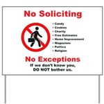 No Soliciting Yard Sign #2