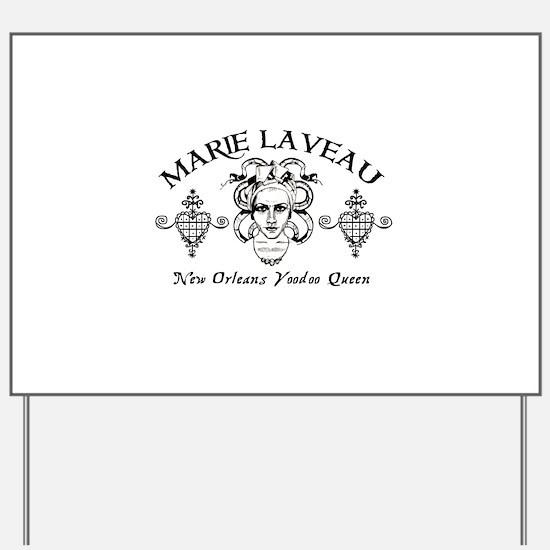 Marie Laveau Yard Sign