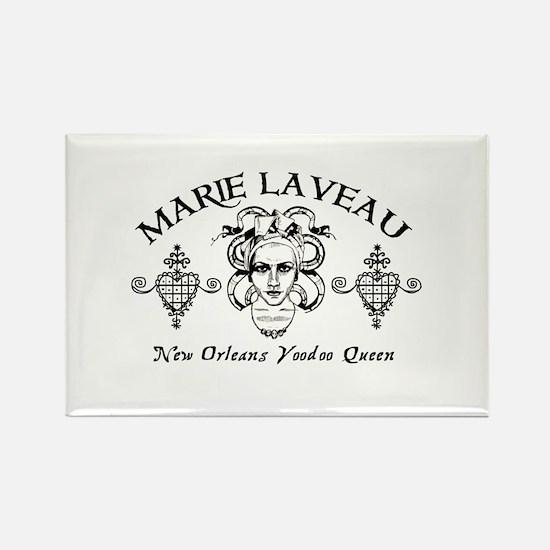Marie Laveau Rectangle Magnet (10 pack)