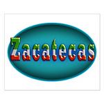 Zacatecas 2a Small Poster