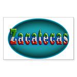 Zacatecas 2a Sticker (Rectangle)