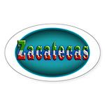 Zacatecas 2a Sticker (Oval 50 pk)