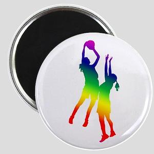 Women's Basketball Magnet