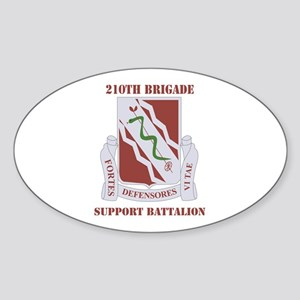 DUI - 210th Bde - Support Bn with Text Sticker (Ov
