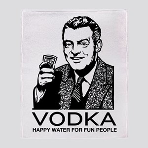 Vodka Throw Blanket