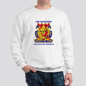 DUI - 2nd Bn - 14th Infantry Regt with Text Sweats