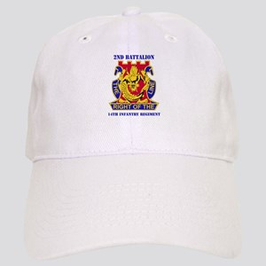 DUI - 2nd Bn - 14th Infantry Regt with Text Cap