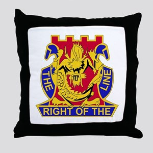 DUI - 2nd Bn - 14th Infantry Regt Throw Pillow