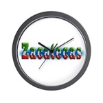 Zacatecas 1a Wall Clock
