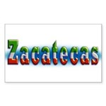 Zacatecas 1a Sticker (Rectangle)