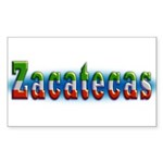 Zacatecas 1a Sticker (Rectangle 50 pk)