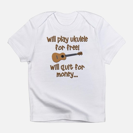 funny ukulele Infant T-Shirt