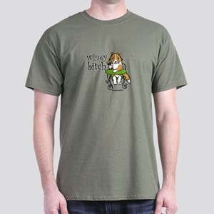 Winey Bitch Sheltie Dark T-Shirt