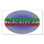Zacatecas 1g Sticker (Rectangle 10 pk)