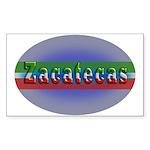 Zacatecas 1g Sticker (Rectangle 50 pk)