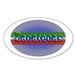 Zacatecas 1g Sticker (Oval)