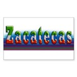 Zacatecas - 1b Sticker (Rectangle)