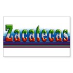 Zacatecas - 1b Sticker (Rectangle 10 pk)