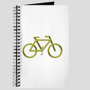 """Gold Bike"" Journal"
