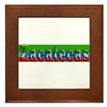 Zacatecas - 1d Framed Tile