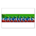Zacatecas - 1d Sticker (Rectangle)